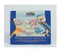 "Набор ""Watercolour Collection"" /для акварели /24 шт в мет.кор."